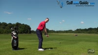 Maintaining connection between the left arm and shoulder in golf Video - by Pete Styles