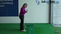 Make Sure at Address you Align Eyes Over the Golf Ball Ladies Best Putting Tip Video - by Natalie Adams