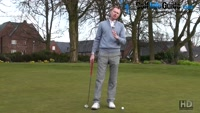 Making A Cross Handed Golf Putting Stroke Video - Lesson by PGA Pro Pete Styles