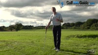 Making Basic Adjustments For A Ball Above The Feet Golf Shot Video - by Pete Styles