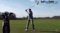 Managing Eye Movements During The Golf Swing Itself Video - by Pete Styles