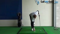 Fat Golf Shot Drill: Mark ball position with tee to see divot Video - Lesson 21 by PGA Pro Pete Styles