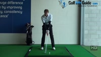 More Relaxed Fluid Strokes with one Handed Full Swings, Golf Video - by Pete Styles