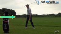 Moving Your Hips From Square To Open In The Golf Swing Video - by Pete Styles
