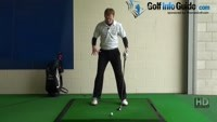 Shorter Golf Swing Drill 3 No leg movement Video - by Pete Styles