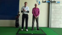 Senior Golfer  4 - Fat fingers don't lock too deeply, Golf Video - by Pete Styles