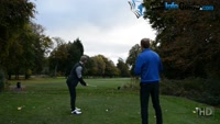 On Course Playing Lesson at Davyhulme Park GC Hole #15 for Will Brown by Pete Styles