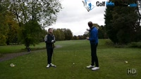 On Course Playing Lesson at Davyhulme Park GC Hole #18 for Will Brown by Pete Styles