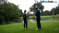 On Course Playing Lesson at Davyhulme Park GC Hole #2 for Will Brown by Pete Styles