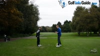 On Course Playing Lesson at Davyhulme Park GC Hole #6 for Will Brown by Pete Styles