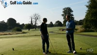 On Course Playing Lesson at Worsley Park Hole #11 for Greg Harding by Pete Styles