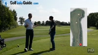 On Course Playing Lesson at Worsley Park Hole #17 for Greg Harding by Pete Styles