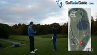 On Course Playing Lesson at Worsley Park Hole #7 for Greg Harding by Pete Styles