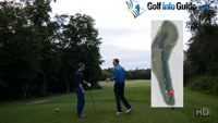 On Course Playing Lesson at Worsley Park Hole #8 for Greg Harding by Pete Styles