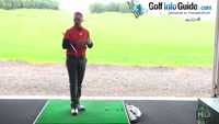 One Handed Practice Golf Swings To Improve Left Arm And Shoulder Movement Video - by Peter Finch