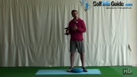 One Leg Shoulder Raise For Golf Balance Video - by Peter Finch