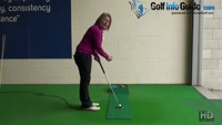 Open Putting Stance To Help on Long Putts Ladies Golf Tip Video - by Natalie Adams