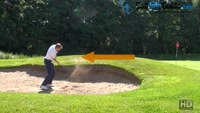 Playing A Basic Explosion Golf Shot Video - by Pete Styles