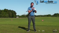 Playing Golf Shots When Lifting The Left Heel Video - by Peter Finch