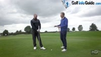 Playing The Ball From An Uphill Sloping Lie - Video Lesson by PGA Pros Pete Styles and Matt Fryer