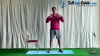 PreRound Golf Quad Stretch Video - by Peter Finch