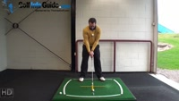 Right Hand Golf Tip: How Best to Hit from a Downhill Lie Video - by Peter Finch