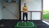 Right Hand Golf Tip: How and Why, Lay your Head on a Pillow Golf Swing Video - by Peter Finch