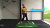 Right Hand Golf Tip: How and Why you Should Stay Behind the Golf Ball Video - by Peter Finch