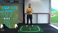 Right Hand Golf Tip: How to Set Up with the Correct Golf Ball Position Video - by Peter Finch