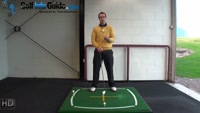 Right Hand Golf Tip: The Correct Way to Hit a Golf Ball That is Above Your Feet Video - by Peter Finch
