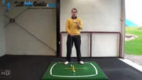 Right Hand Golf Tip: What is the Correct Position for Your Back Foot Video - by Peter Finch