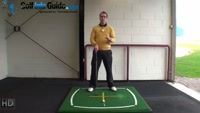 Right Hand Golf Tip: What is the Right Shoulder Alignment Video - by Peter Finch