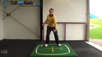 Right Hand Golf Tip: What is the Proper Weight Shift During a Full Swing Video - by Peter Finch