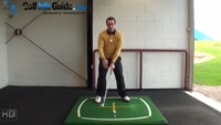 Right Hand Golf Tip: Why the Eyes Need to be Level for Best Ball Striking Video - Lesson by Peter Finch