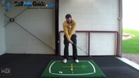Right Hand Golf Tip: You Should Hit Down to Prevent Scooping Chip Shots Video - by Peter Finch