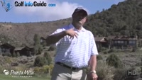 Set Shoulders Parallel to Ground for Sloping Lies by Tom Stickney