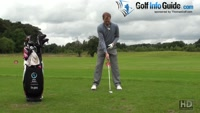 Setting Up Correctly To Stay Behind The Golf Ball Video - by Pete Styles