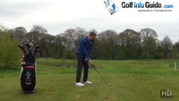 Setting Your Body Position To Match Your Golf Aim Video - by Pete Styles