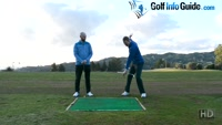 Shift Your Centre Of Mass In Your Golf Swing Drills - Video Lesson by PGA Pros Pete Styles and Matt Fryer