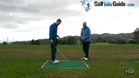 Shifting Your Bodyweight In The Backswing Drill – Video Lesson by PGA Pros Pete Styles and Matt Fryer