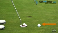 Putting-Knock In The Tee Peg Golf Game Video - by Pete Styles
