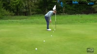 Putting-Pace Control 5 Balls With 5 Feet Golf Game Video - by Pete Styles