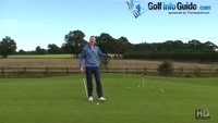 Short Golf Putt Speed Control Drill Video - by Pete Styles
