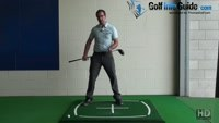 Backswing in Golf, Should I Load Up Behind The Ball Video - by Peter Finch
