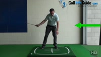 Golf Sway, Should Body Move Sideways During Back Swing? Video - by Pete Styles