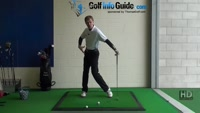 Should Left Heal Lift on Backswing, Golf Video - by Pete Styles