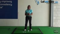 Should Left Heel Lift On the Backswing Golf Backswing Left Heel Up or Down Women Golfer Tip Video - by Natalie Adams