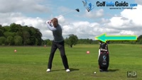 Sliding Past The Ball Causes Golf Blocked Shots Video - Lesson by PGA Pro Pete Styles