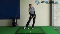 What is more power and why golf drill 3 Snap front knee at impact Video - by Pete Styles
