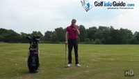 Spot Chipping Golf Drill Video - by Pete Styles